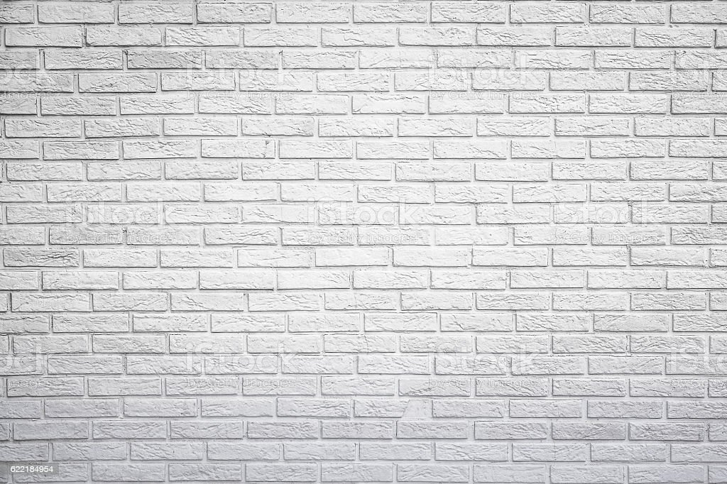 White brick wall background stock photo more pictures of for White brick wall