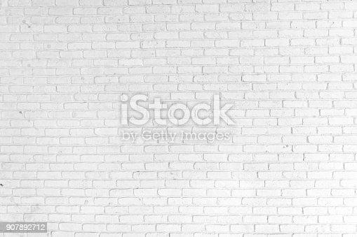 istock White Brick Wall Background 907892712