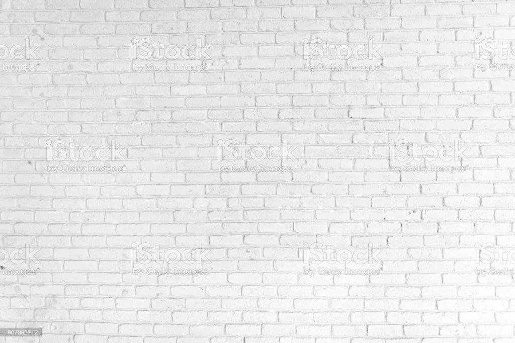 Fondo de pared de ladrillo blanco - foto de stock