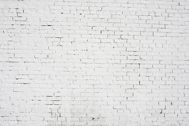 인명별 벽돌전 벽 배경기술 벽지용 패턴 - 흰색 벽돌 담 뉴스 사진 이미지
