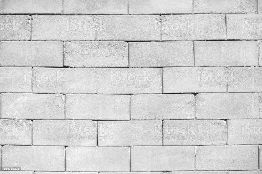White brick wall pattern texture. Brick wall surface for design. royalty-free stock photo