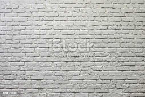 abstract background white brick wall texture