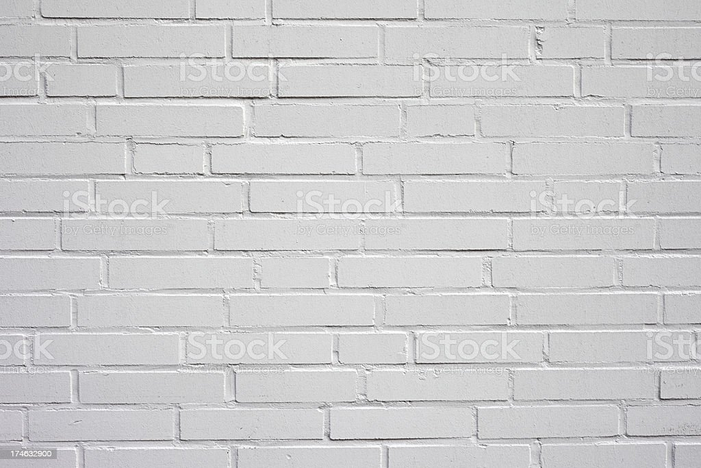 White Brick Wall royalty-free stock photo