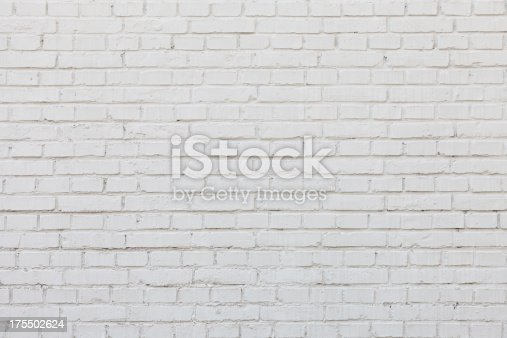 istock White brick wall 175502624