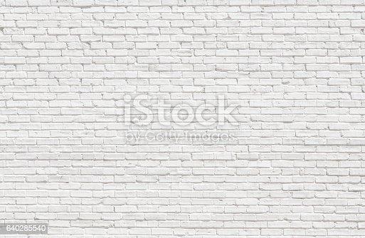 istock White brick wall 640285540