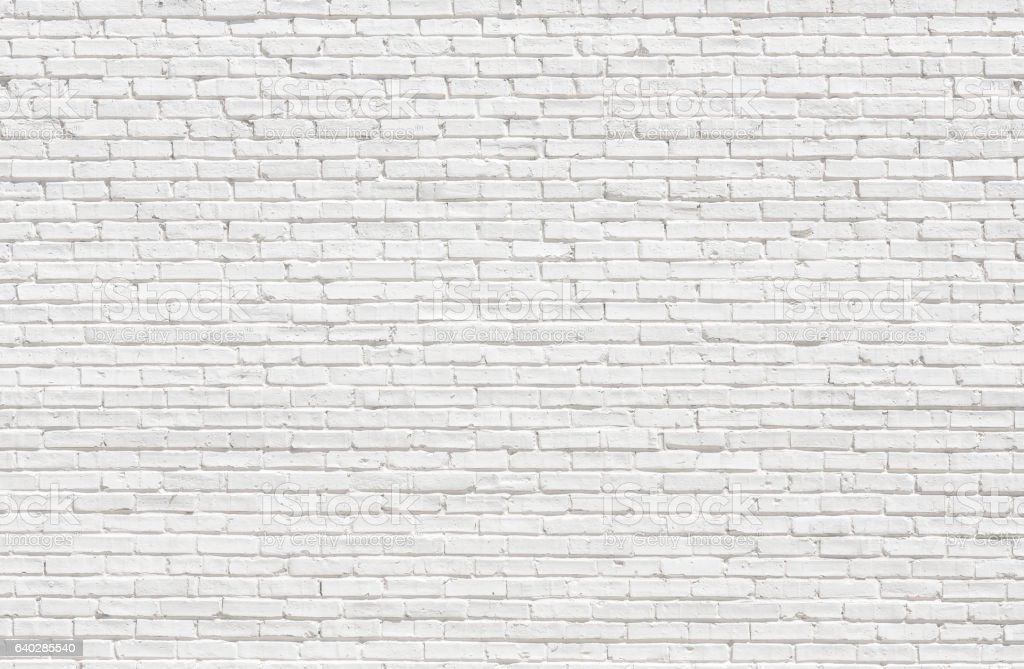 White brick wall​​​ foto