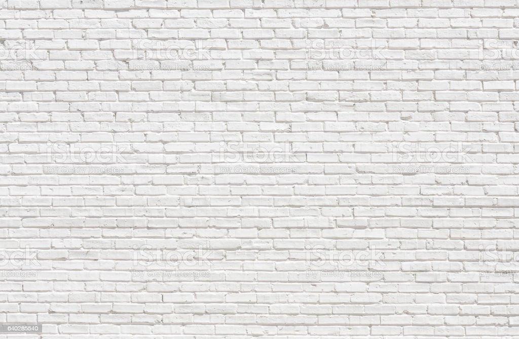 White brick wall  – Foto