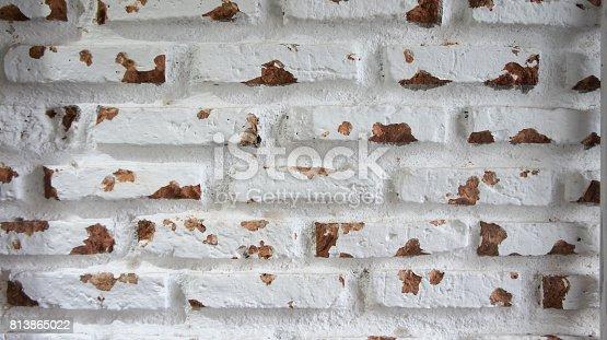 629255068istockphoto white brick wall rustic 813865022