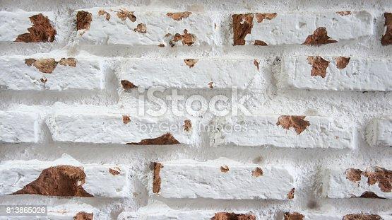 629255068istockphoto white brick wall rustic 813865026