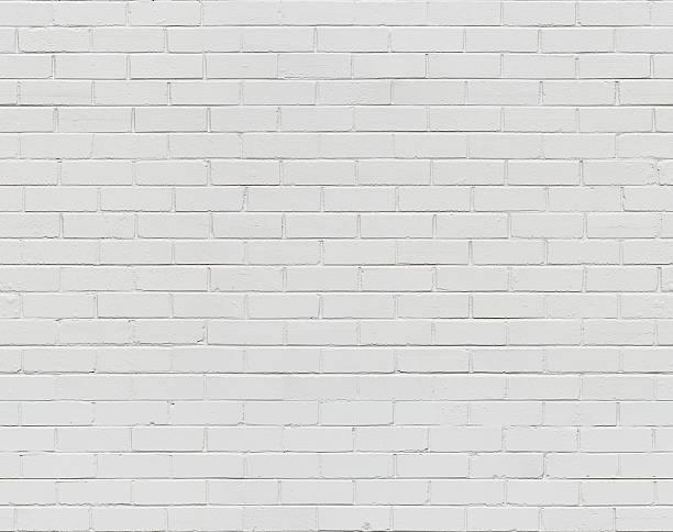 White Brick Wall Seamless stock photo
