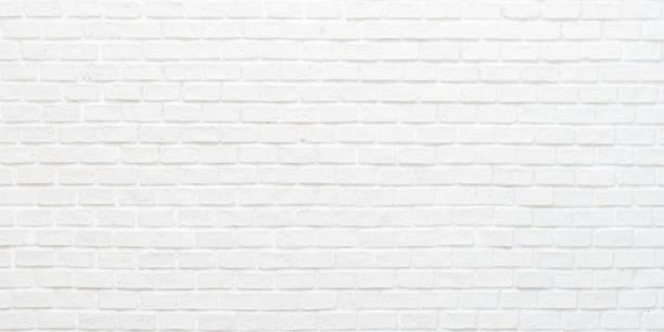 회색 밝은 색상 벽지 현대 인테리어와 외부 및 배경 디자인에 그려진 돌 타일 블록흰색 벽돌 벽 질감 배경 - 흰색 벽돌 담 뉴스 사진 이미지