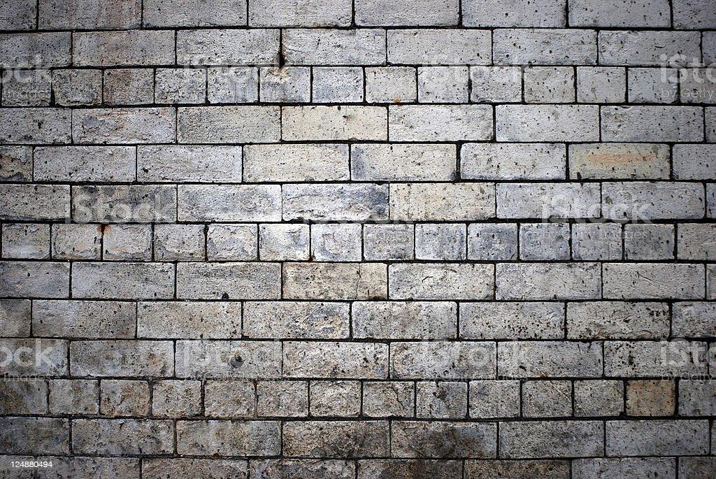 White brick wall texture royalty-free stock photo