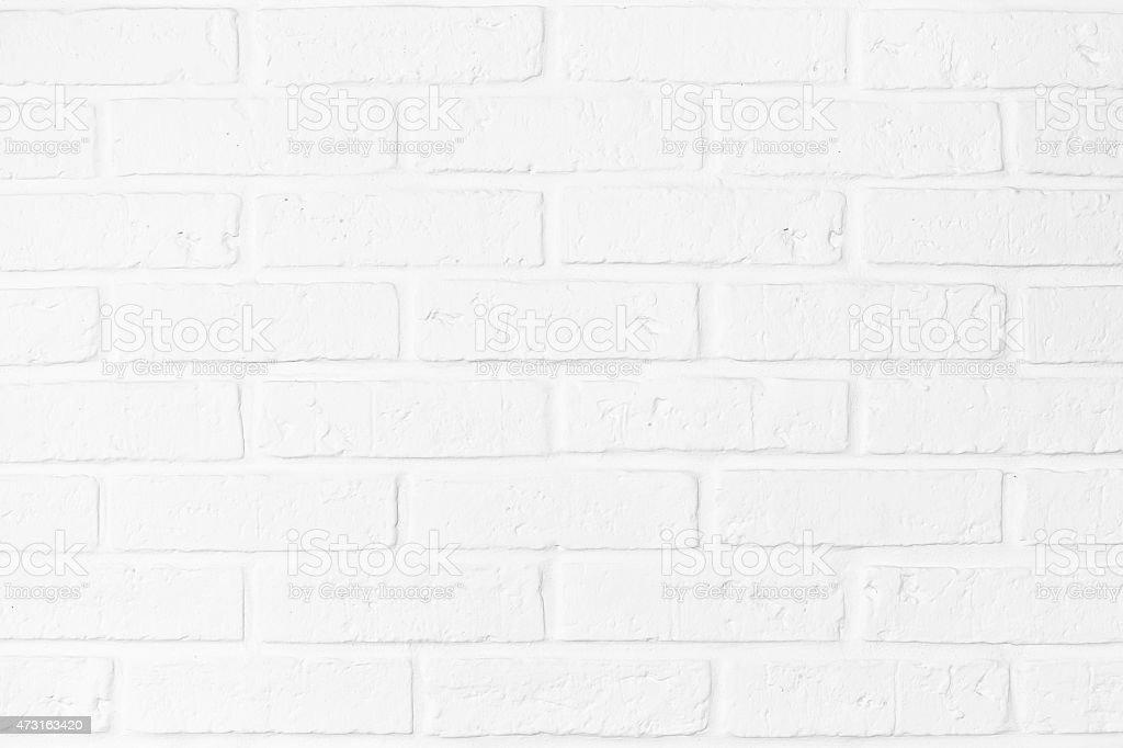 Biały Cegła Mur tekstura płótna – zdjęcie