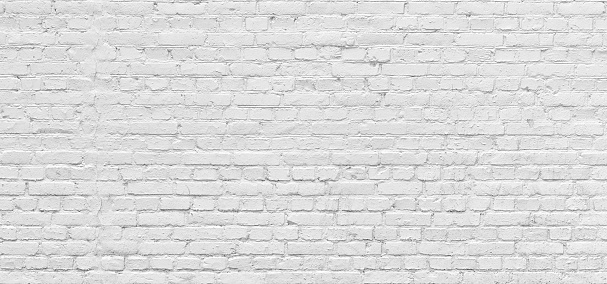 White Brick Wall Urban Background In High Resolution Stock Photo