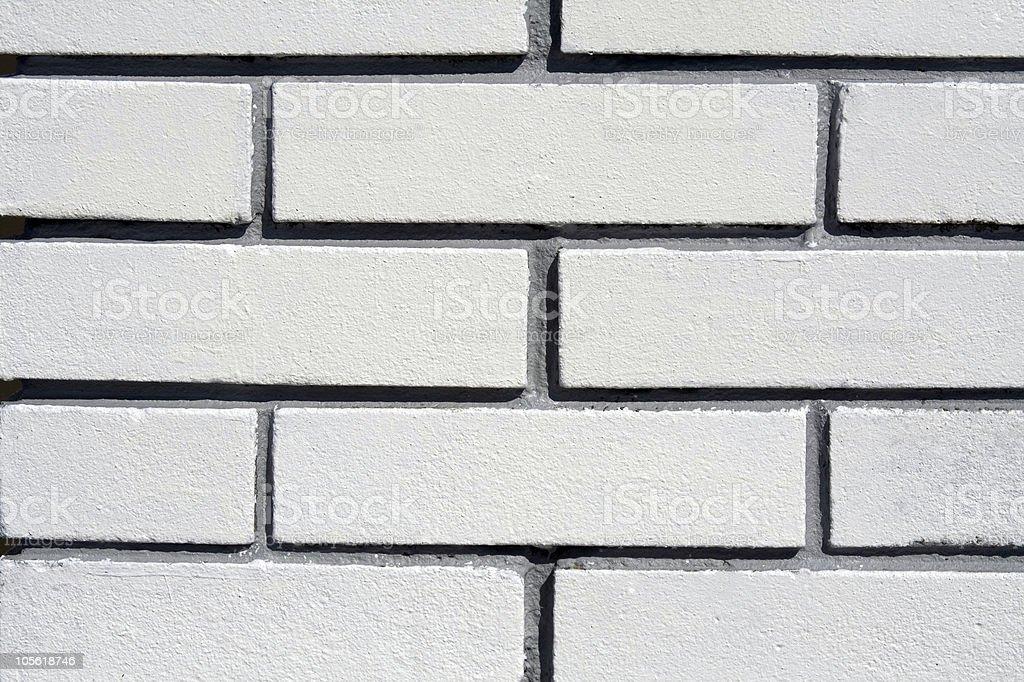 White bricks texture royalty-free stock photo