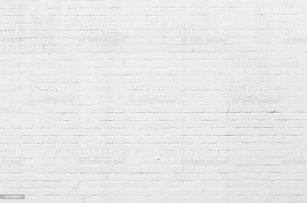 White brickwall Oberfläche – Foto