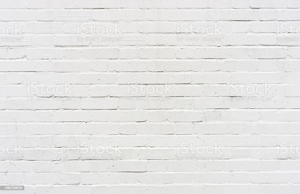 White brickwall surface stock photo