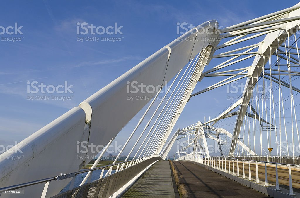 white bridge stock photo