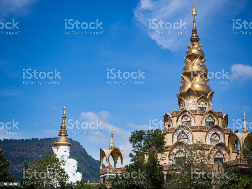 White Buddha royalty-free stock photo