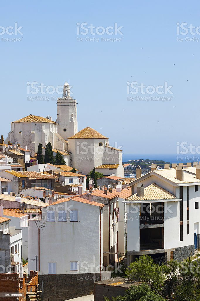 White building in Spain royalty-free stock photo