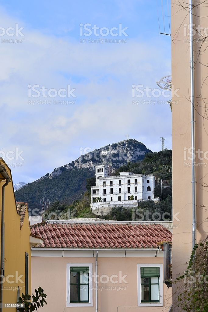 white building royalty-free stock photo
