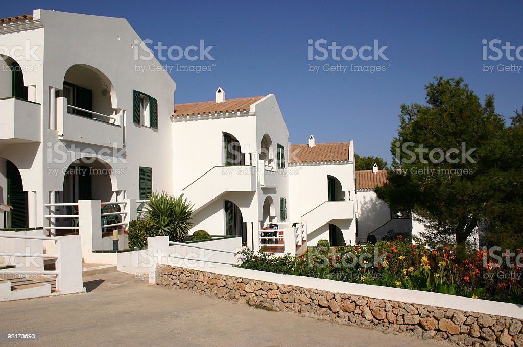 white buildings royalty-free stock photo