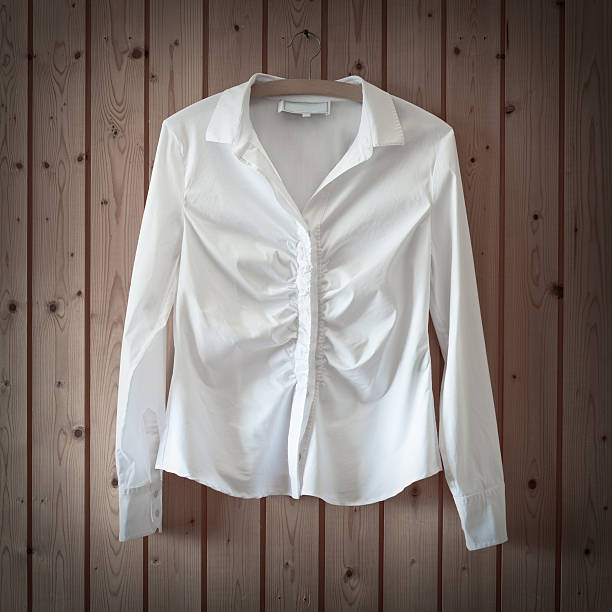 White Business Blouse  blouse stock pictures, royalty-free photos & images
