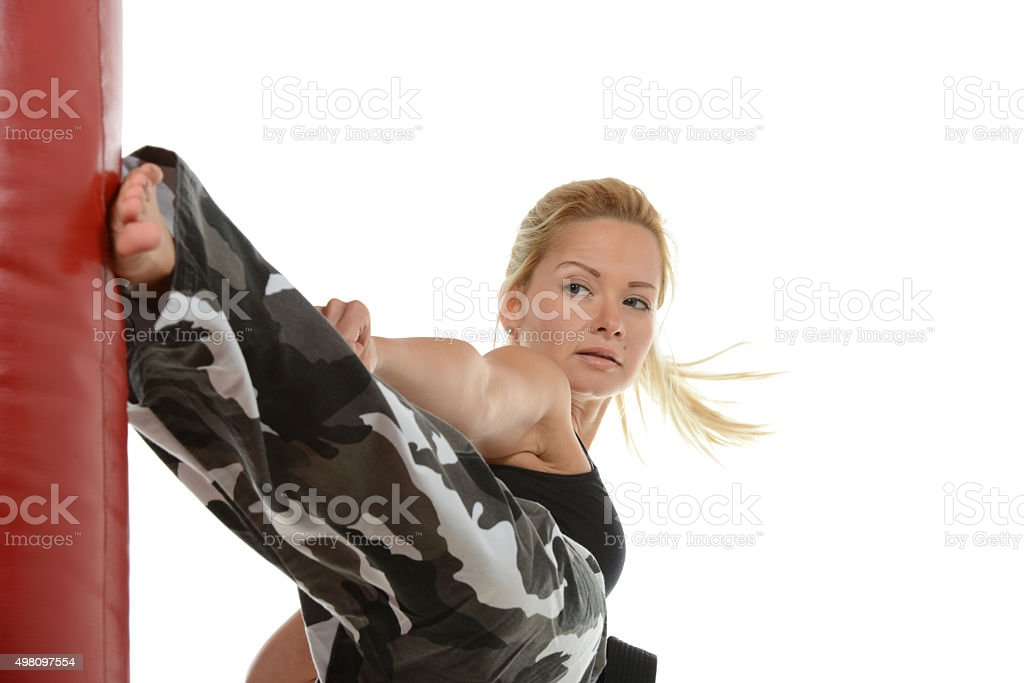 White Camo Training stock photo