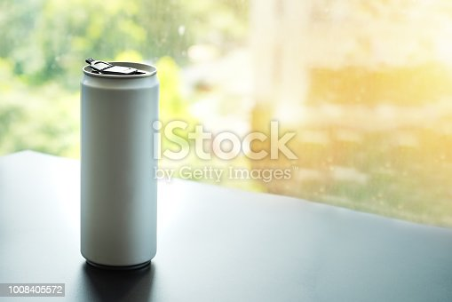 istock White can, ideal for water, beer, lager, alcohol, soft drinks, soda, lemonade, cola, energy drink, juice etc 1008405572