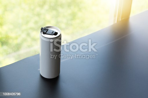 istock White can, ideal for water, beer, lager, alcohol, soft drinks, soda, lemonade, cola, energy drink, juice etc 1008405796