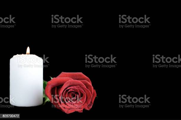 White candle and red rose isolated on black background picture id825700472?b=1&k=6&m=825700472&s=612x612&h=oiajhrnemtt4mwa5wcu3delajv6e7yjc5e6pa4g2qd8=