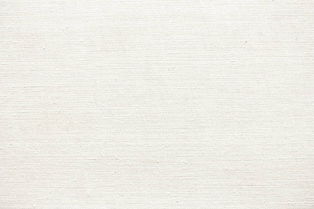 white canvas background. - tuval tekstil stok fotoğraflar ve resimler
