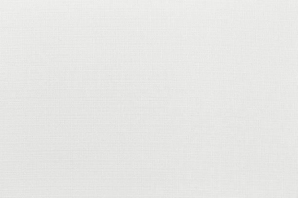 weißes leinwand hintergrund mit kopie raum - textilien stock-fotos und bilder