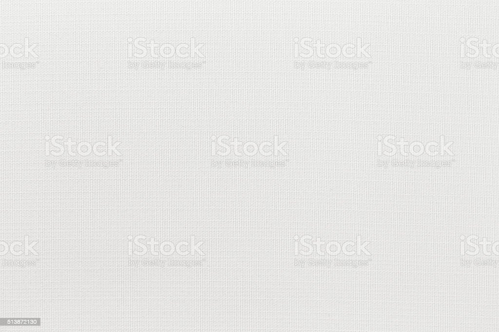 White canvas background with copy space stock photo