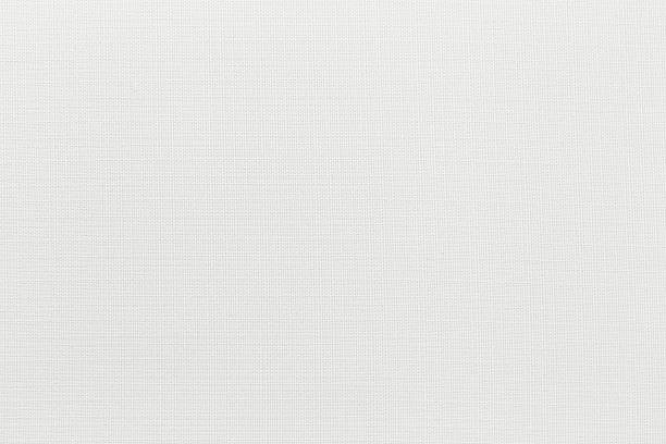 white canvas background with copy space - textile stock photos and pictures
