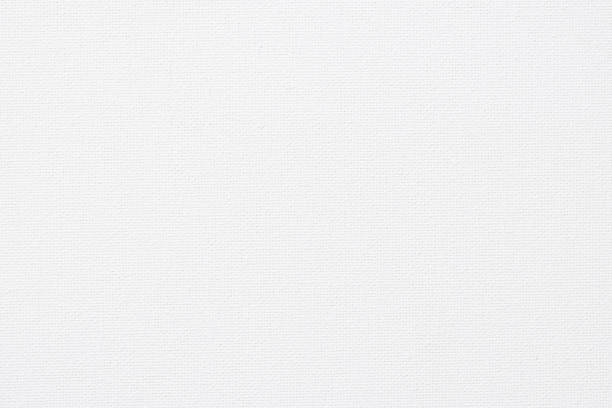 White canvas burlap natural fabric pattern background for arts painting stock photo
