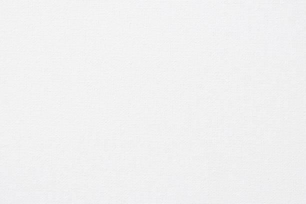 white canvas burlap natural fabric pattern background for arts painting - lona têxtil imagens e fotografias de stock