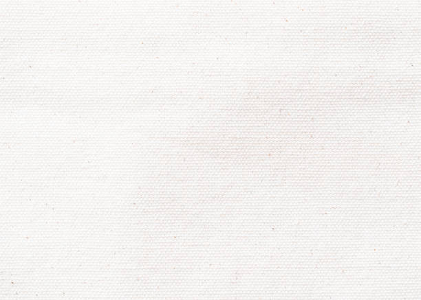 white canvas texture background of cotton burlap natural fabric cloth for wallpaper and design backdrop - rag stock pictures, royalty-free photos & images