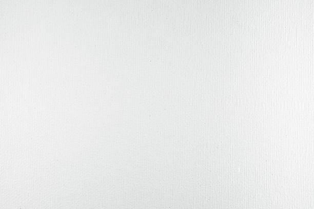 Fond blanc, texture de type toile - Photo