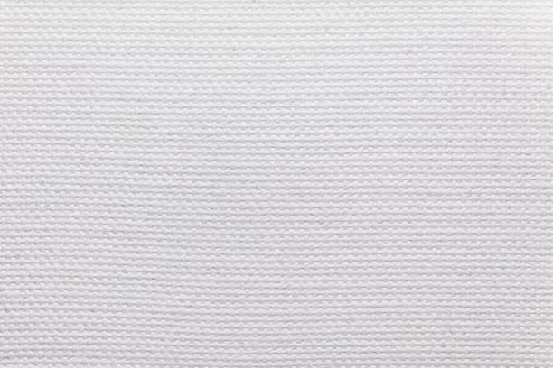 beyaz tuval dokusu - tuval tekstil stok fotoğraflar ve resimler