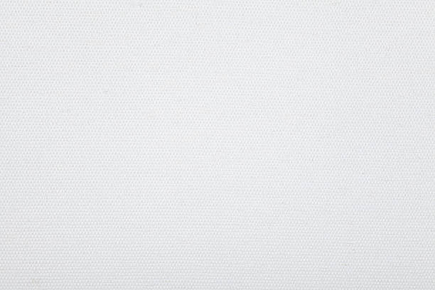 white canvas texture - mesh textile stock photos and pictures