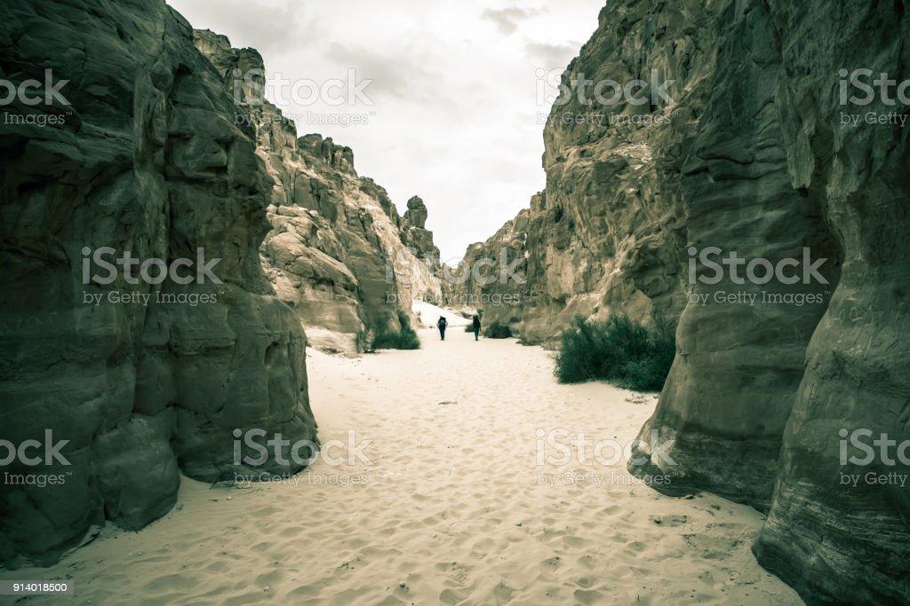 White Canyon Sinai Peninsula Egypt Stock Photo & More Pictures of Adventure