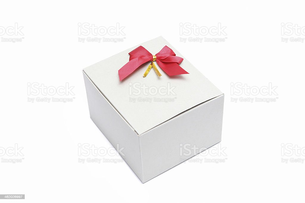 white cardboard box royalty-free stock photo
