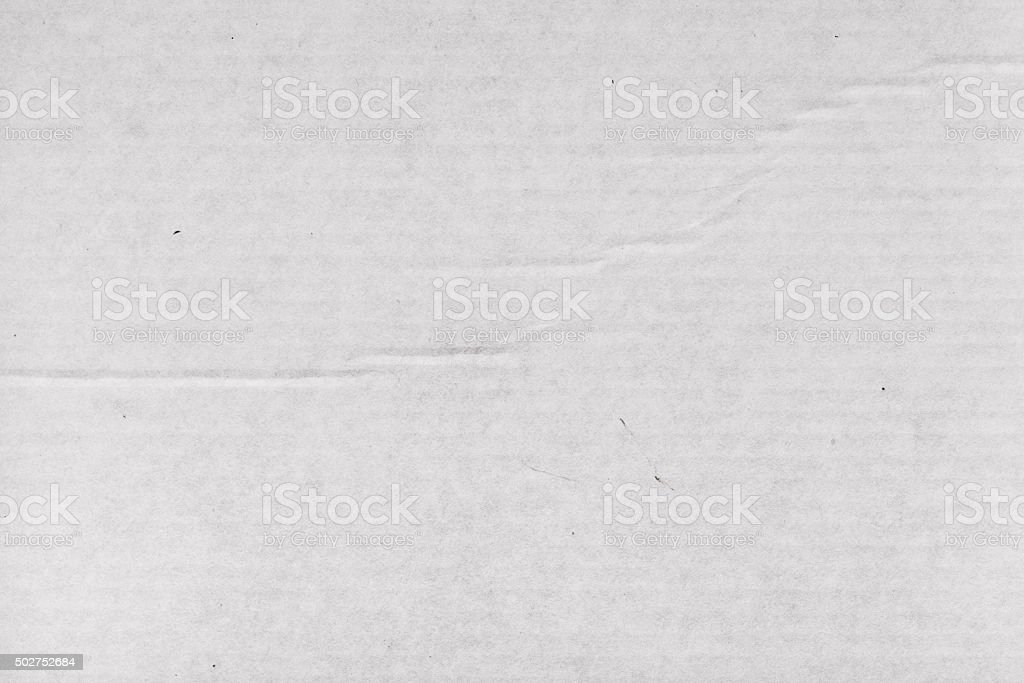White cardboard photo for background texture stock photo