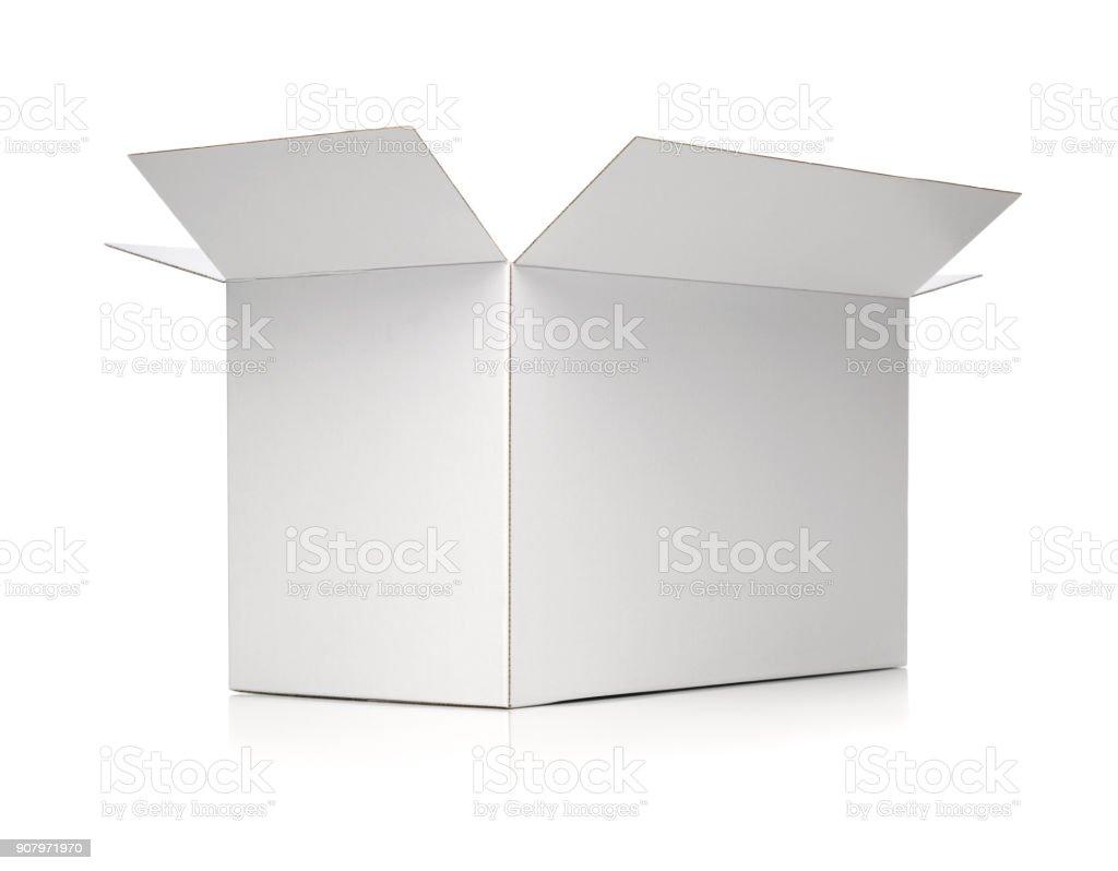 Weiße cardbox – Foto