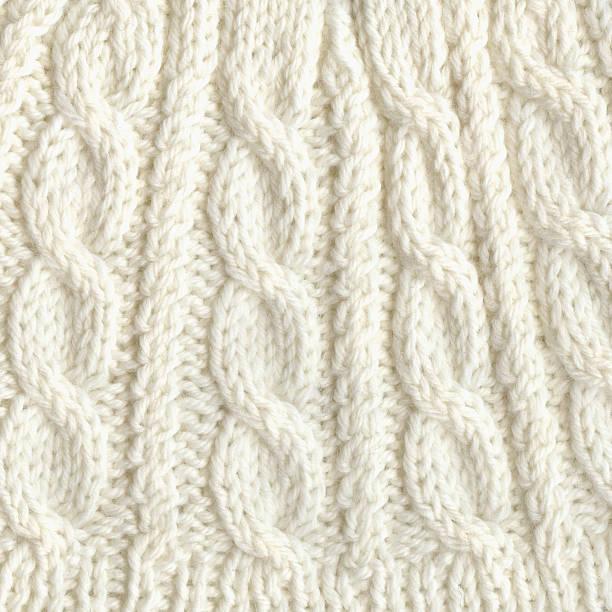 White Cashmere Wool Patterns XXXL stock photo