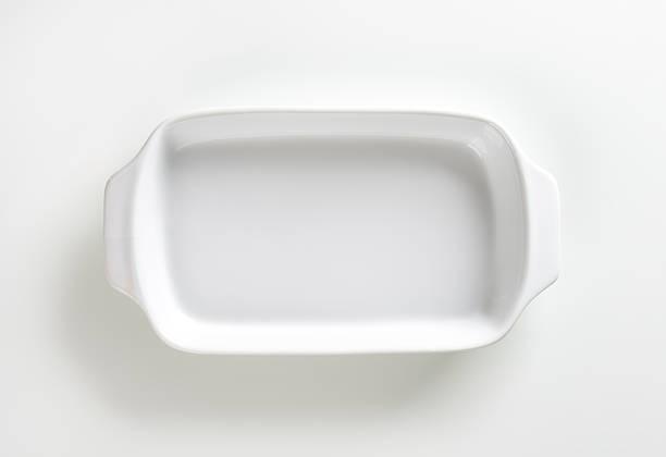 Plaque Plat en céramique blanc - Photo