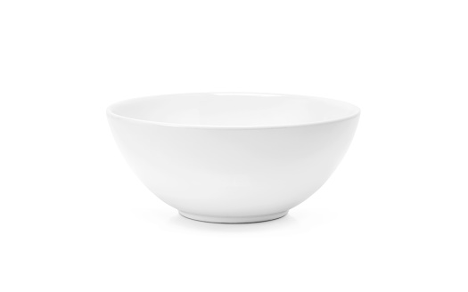 白色陶瓷碗或深碟在白色背景隔絕的簡單廚具 照片檔及更多 一個物體 照片