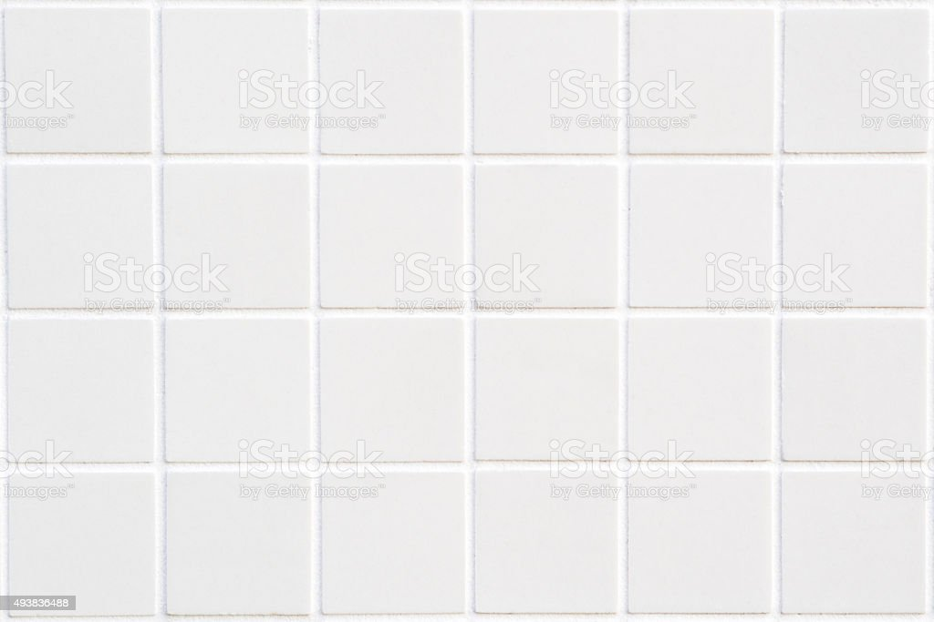 De cerâmica branca com 24 praças de forma retangular - foto de acervo