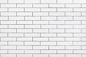 White ceramic tiles wall  texture background